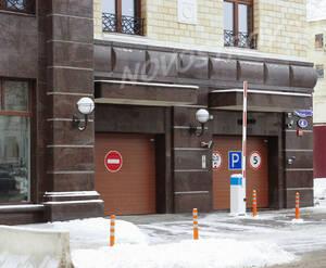 ЖК «Grand Deluxe на Плющихе»: Въезд на подземную стоянку, 4.02.2015