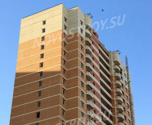 ЖК «Богатырь 2»: фасад. 15.02.2015