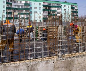 ЖК «Лунево»: Строительная площадка, 28.03.2015 г.