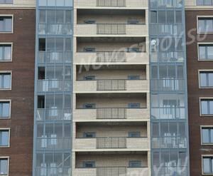 ЖК «Невский стиль»: балконы корпуса 13А (10.04.2015)