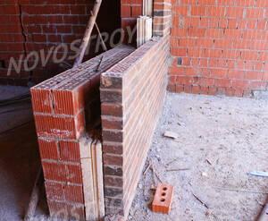ЖК «Спорт-Таун»: Стена корпуса в разрезе. 15.04.2015