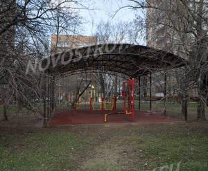 ЖК «Just M»: Детская площадка, 21.04.2015