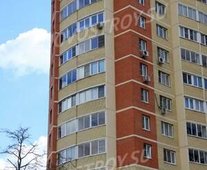 ЖК «Бриз»: 18.04.2014 - Фрагмент средних этажей построенного корпуса 1-ой очереди