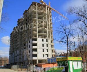 ЖК «Дом на улице Мира, 4А»: 22.04.2015 - Новостройка, вид с торца