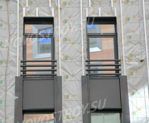 МФК «Avenue-Apart»: фасад (03.05.2015)