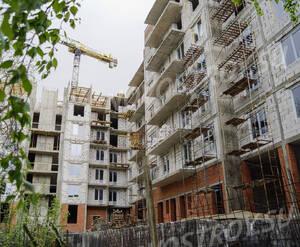 ЖК «Дом на Социалистической, 114»: восточный вид со двора (17.05.15)