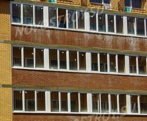 ЖК «Всеволожск-Христиновский»: балконные группы корпуса 1 (07.06.15)