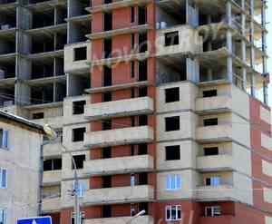ЖК «Альянс»: 07.06.2015 - Фрагмент новостройки, средние этажи