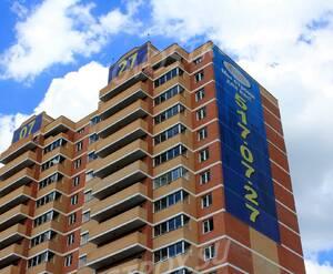 ЖК «Поварово-Молодежный»: 24.06.2015 - Фрагмент корпуса, верхние этажи