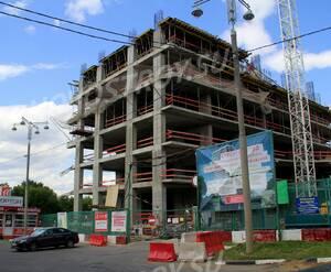ЖК «Штаб-квартира на Мосфильмовской»: 06.07.2015 - Строящийся жилой комплекс. Строительство находится на стадии возведения нижних этажей