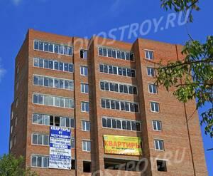 ЖК «Дом на улице Декабристов»: 08.08.2015 - Фрагмент корпуса, верхние этажи