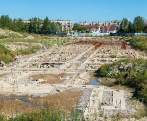 ЖК «Яблоневый цвет»: заложенный фундамент (24.08.2015)