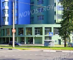 ЖК «на Циолковского»: 24.08.2015 - Фрагмент корпуса, цоколь
