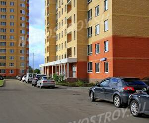 ЖК «Дом на улице Колхозная, 3»: 30.08.2015 - Фрагмент строящегося корпуса