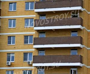 ЖК «Прибрежный» (г. Лыткарино): 17.09.2015 - Фрагмент построенного корпуса