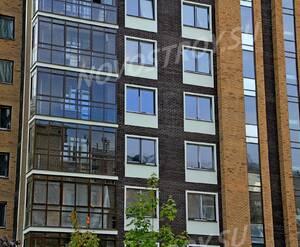 ЖК «Дом на улице Барклая»: 22.09.2015 - Фрагмент построенного дома