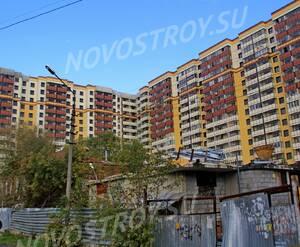 ЖК «Октябрь»: 08.10.2015 - Новостройка, вид со двора