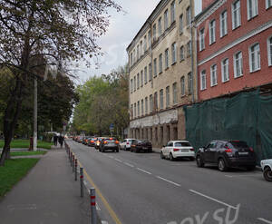 ЖК «Резиденция Шаболовская слобода»: Виды у ЖК, 14.10.2015
