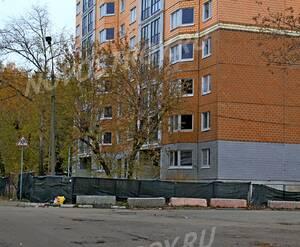 ЖК «Микрорайон №25 в Балашихе»: 20.10.2015 - Фрагмент строящегося дома