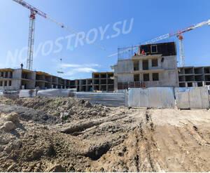 Ход строительства ЖК «Чудная долина» (02.07.2015)