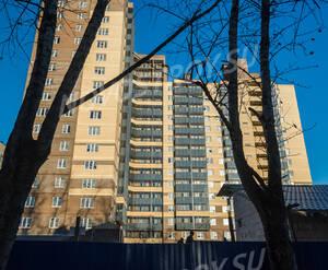 ЖК «Александрит»: общий вид со двора (05.11.2015)