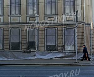 ЖК «Остоженка, 12»: 06.11.2015 - Фрагмент дома