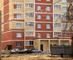 ЖК «Европейский» (г. Егорьевск): 08.11.2015 - Фрагмент построенного корпуса, подъезд