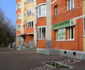 ЖК «Европейский» (г. Егорьевск): 08.11.2015 - Фрагмент построенного корпуса, первый этаж
