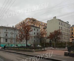 ЖК «Hovard Palace»: вид с пер. Джамбула (07.11.2015)