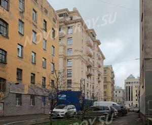 ЖК «Hovard Palace»: вид с прилегающей территории дома №9 по ул. Ломоносова (07.11.2015)