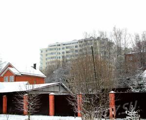 ЖК «на улице Бусалова»: 24.11.2015 - Корпуса 17 и 15, вимд с угла ул Бусалова и Парковой