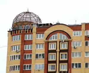 ЖК «Новое Жегалово»: 25.11.2015 - Фрагмент построенного корпуса, верхние этажи