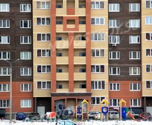 ЖК «Новое Жегалово»: 25.11.2015 - Фрагмент построенного корпуса, нижние этажи