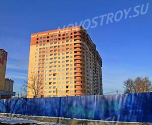 ЖК «Авиатор»: 28.11.2015 - Строящийся дом, вид с Новосходненского шоссе