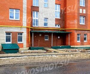 ЖК «Московский», Красная горка 3: 20.12.2015 - Фрагмент строящегося корпуса