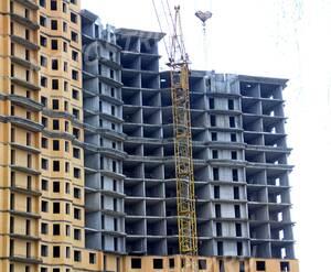 ЖК «Ренессанс»: 20.12.2015 - Фрагмент строящегося дома