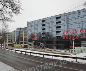 МФК «X-Home»: вид от Приморское шоссе (16.12.2015)