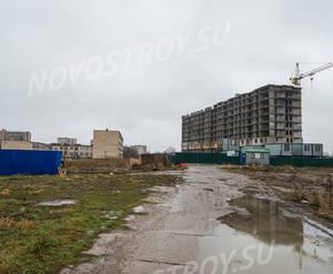 ЖК «Шлиссельбургский дворик»: общий вид на комплекс (20.12.2015)
