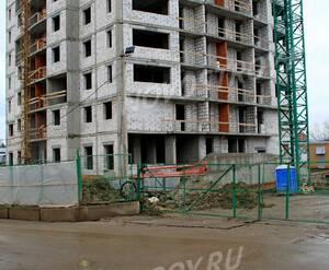 ЖК «Москвич»: 23.12.2015 - Фрагмент строящегося корпуса