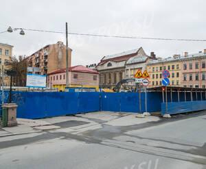 ЖК «Art View House»: территория строительства (24.12.2015)