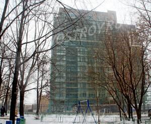 ЖК «Дом на Самаринской»: 02.02.2016 - Вид новостройки со двора