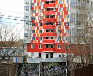 ЖК «Red Hills»: 04.02.2016 - Фрагмент строящегося  дома
