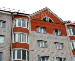 ЖК «Вознесенский 2»: 14.02.2016 - Фрагмент построенного дома