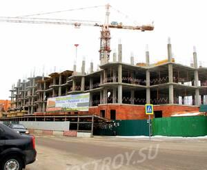 ЖК «Дом на Успенке»: 17.02.2016 -  Строящийся дом
