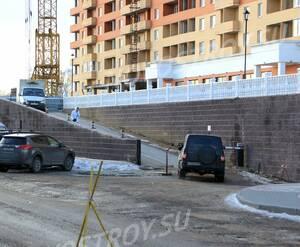 ЖК «Князь Голицын»: 17.02.2016 - Фрагмент построенной части