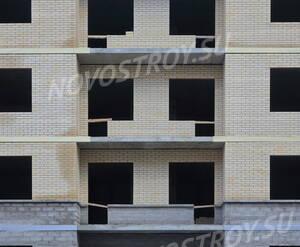 ЖК «Графская слобода»: фасад дома 21 (11.02.2016)