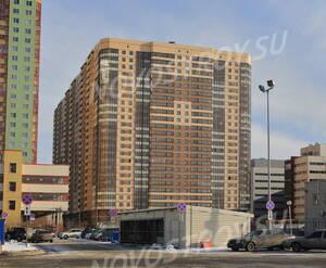 ЖК «Пулковский 2»: вид с ул. Пулковское шоссе (18.02.2016)