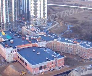 ЖК «Ласточкино гнездо», строительство школы (11.04.2016)