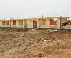 Малоэтажный ЖК «Рузский берег»: Начало строителства корпусов. 10.04.2016
