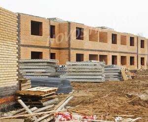 Малоэтажный ЖК «Рузский берег»: Строительство 3-х этажного корпуса. 10.04.2016